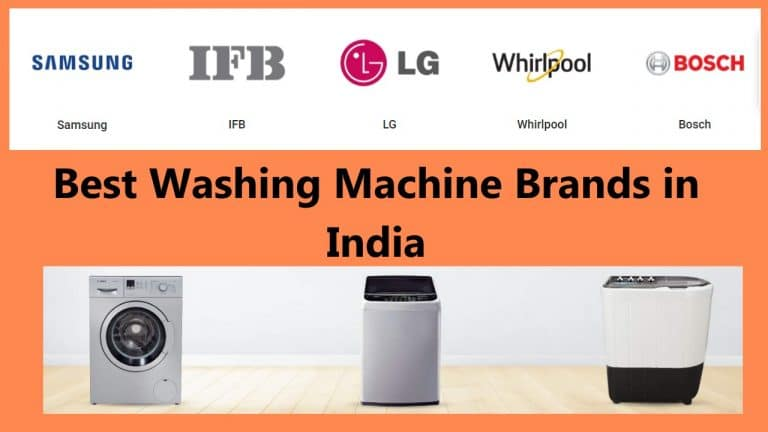 washing machine best brands in India