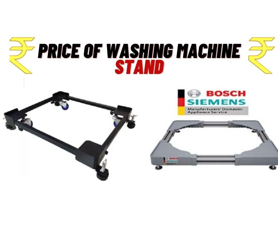price of a washing machine stand