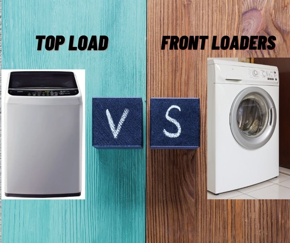 top load washing machines vs front loaders